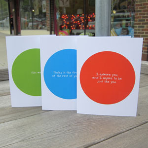 Zippernut Press Greeting Cards