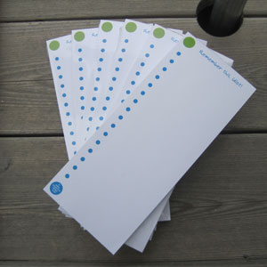 Zippernut Press Note Pads